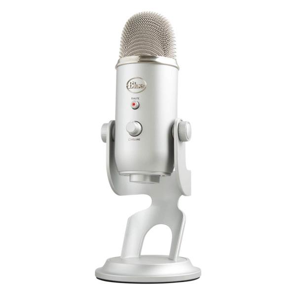 Blue Microphones Yeti - Micrófono USB para grabación y transmisión en PC y Mac