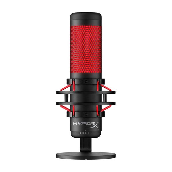 Micrófono HyperX QuadCast con anti-pop incorporado para conseguir excelentes grabaciones