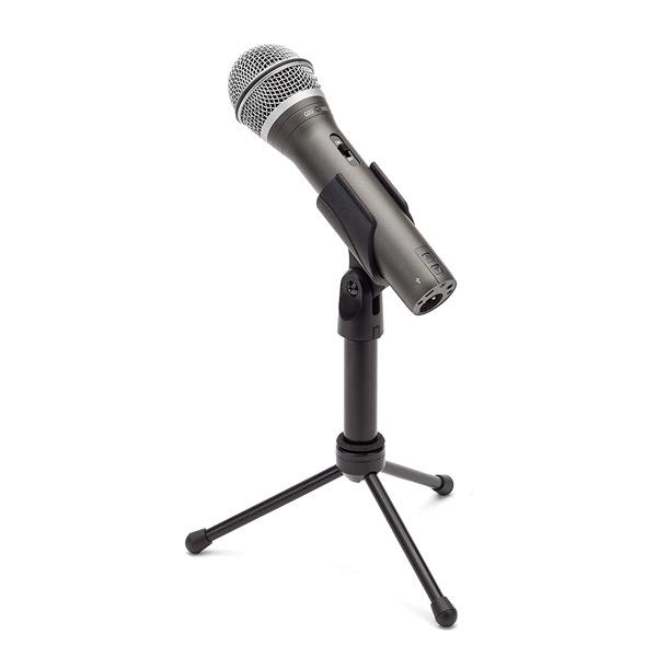 Micrófono dinámico USB Samson Q2U perfecto para podcasting empezar un podcast