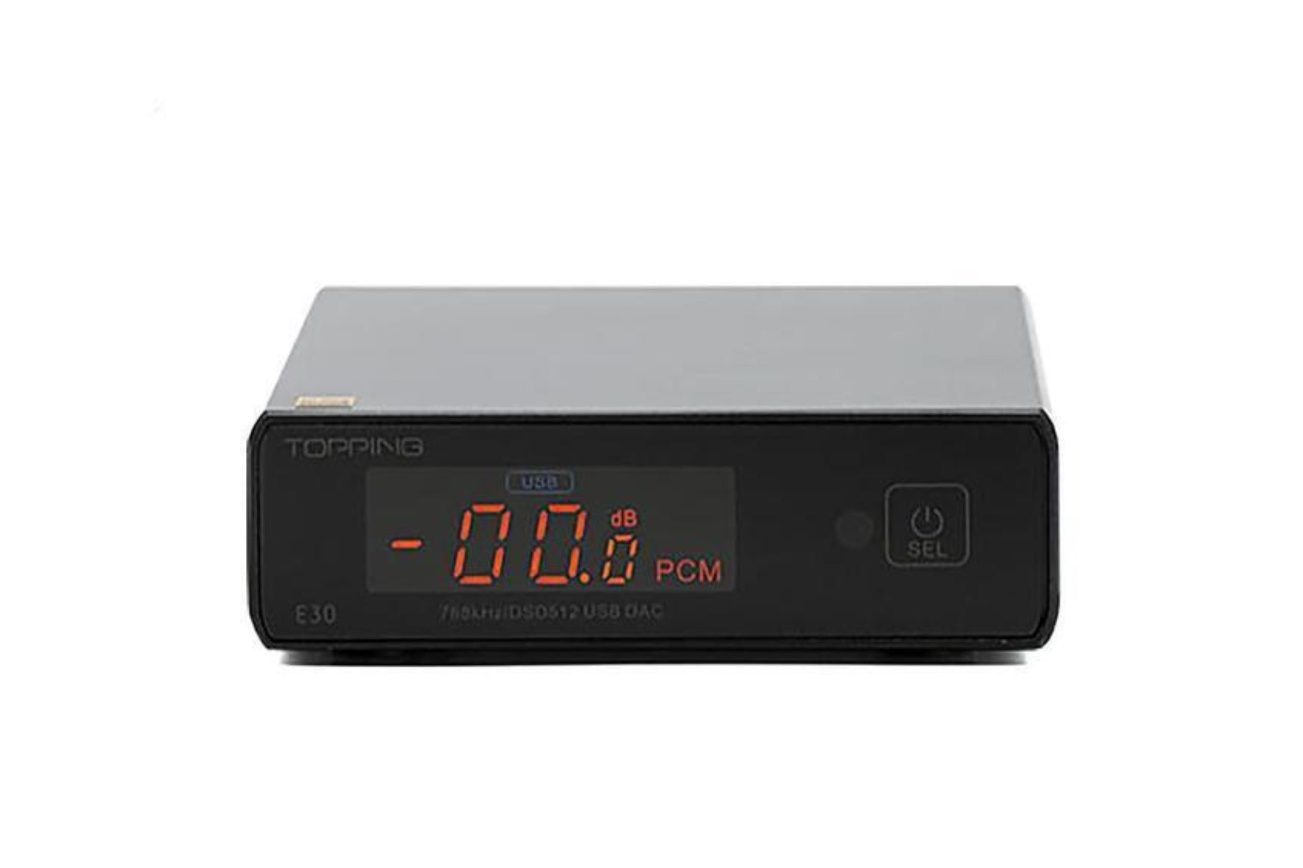 Audio DAC Topping E30. DAC externo para escritorio. Review y análisis del sonido.