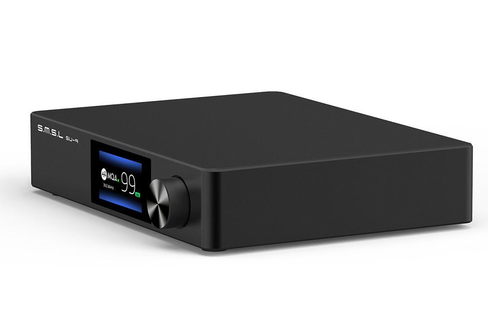 Audio DAC SMSL SU9 MQA Full Decoder ES9038PRO DAC XMOS DSD512 PCM768kHz 32Bit