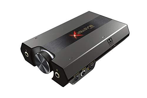 Tarjeta de Sonido USB Externa y DAC para Juegos HD Sound BlasterX G6 7.1