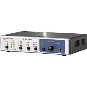 El ADI-2 FS es un transmisor de alta definición AD/DA muy compacto y flexible de 2 canales.