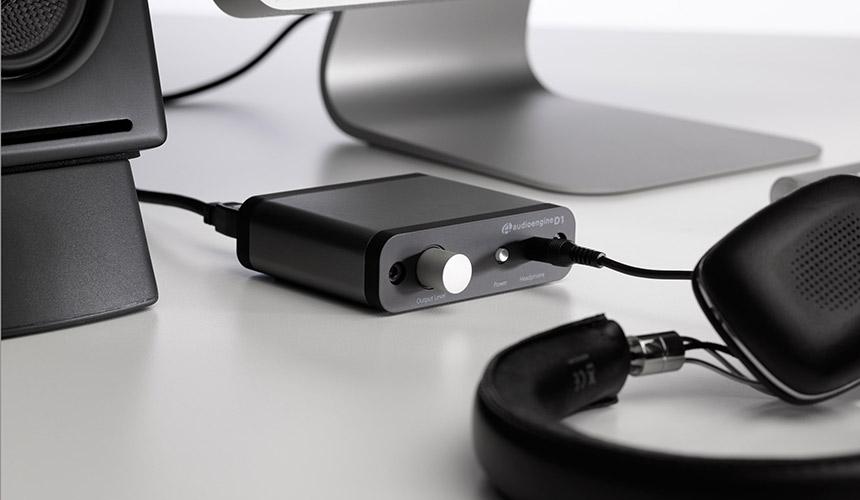 Audioengine D1 DAC y amplificador barato para nuestro escritorio